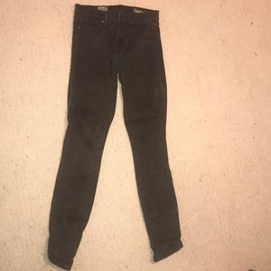 Gap dark green jeans